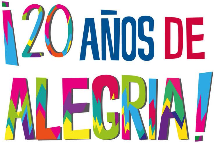 20 años de alegría:  de estilo  por Xarzamora Diseño