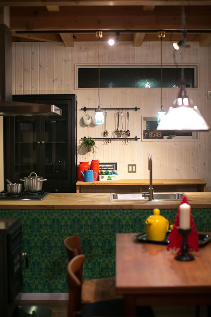 I's HOUSE: dwarfが手掛けたキッチンです。,