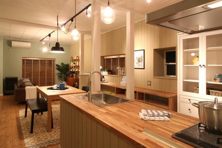 K's HOUSE: dwarfが手掛けたキッチンです。