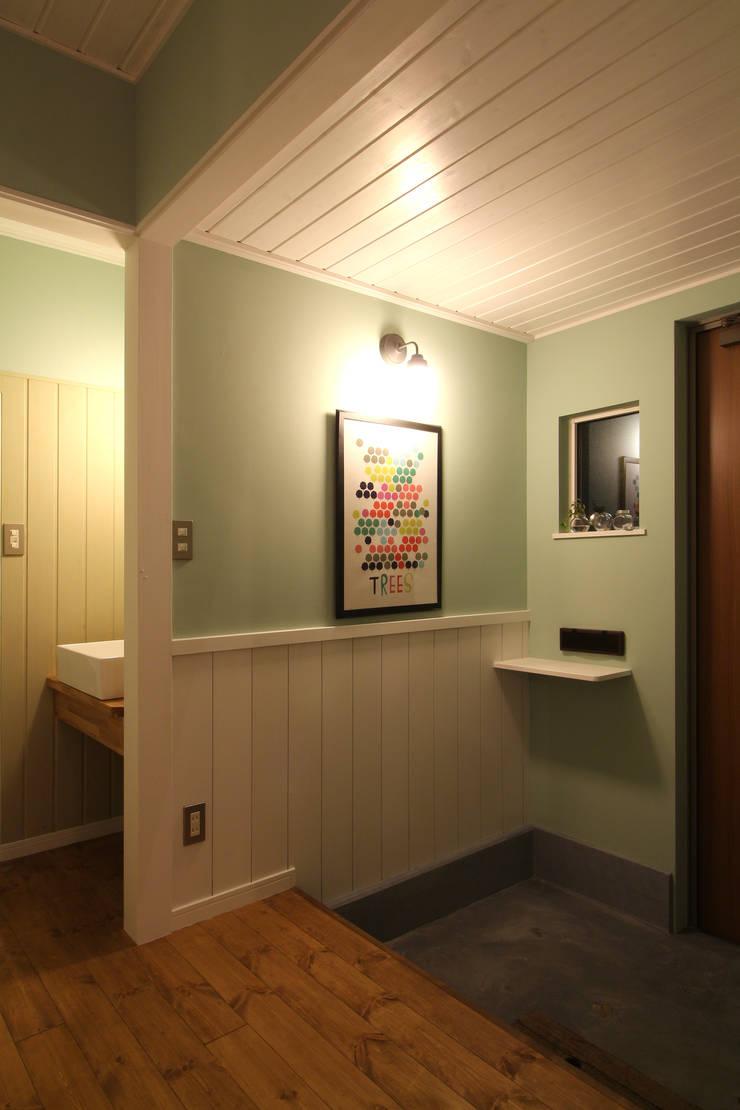 K's HOUSE: dwarfが手掛けた廊下 & 玄関です。