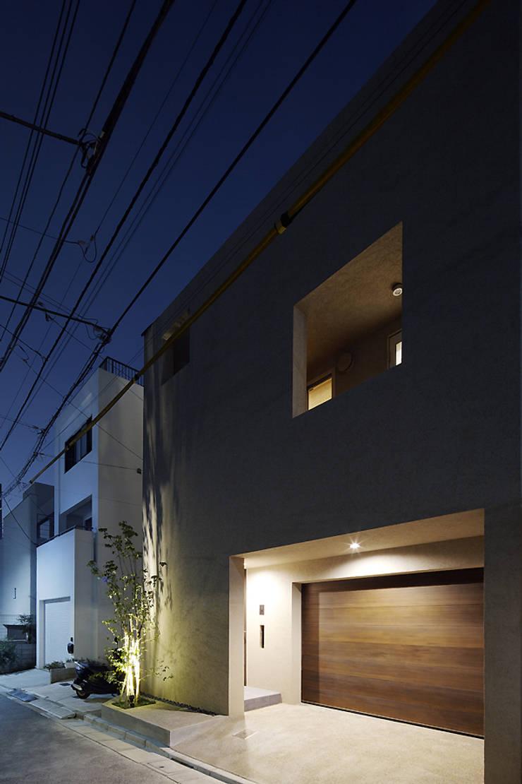 Modern home by 株式会社廣田悟建築設計事務所 Modern