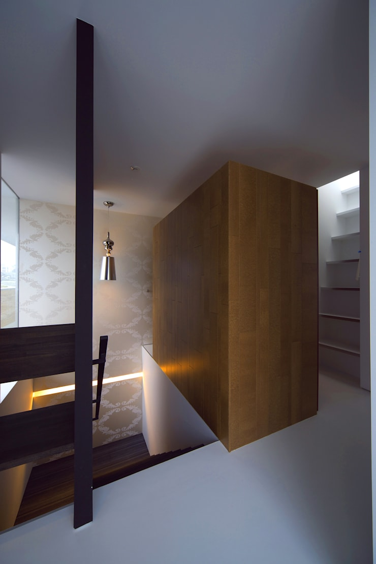 TT: 株式会社廣田悟建築設計事務所が手掛けた廊下 & 玄関です。