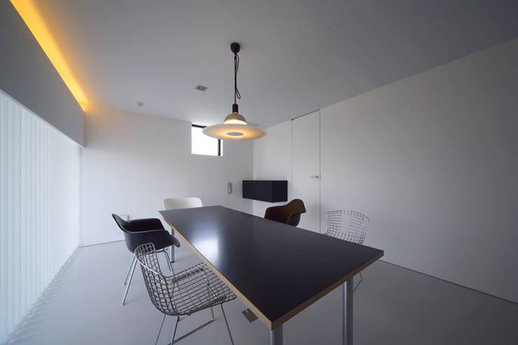 TT: 株式会社廣田悟建築設計事務所が手掛けた書斎です。