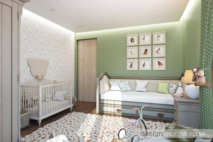 Детская комната : Детские комнаты в . Автор – ELENA SKUTOVA