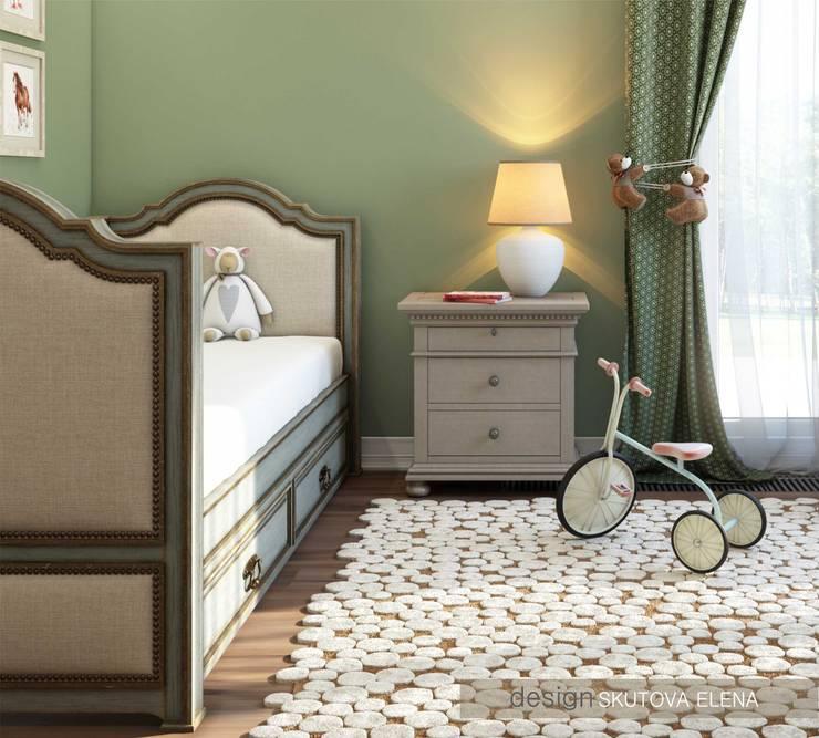 Детская комната: Детские комнаты в . Автор – ELENA SKUTOVA