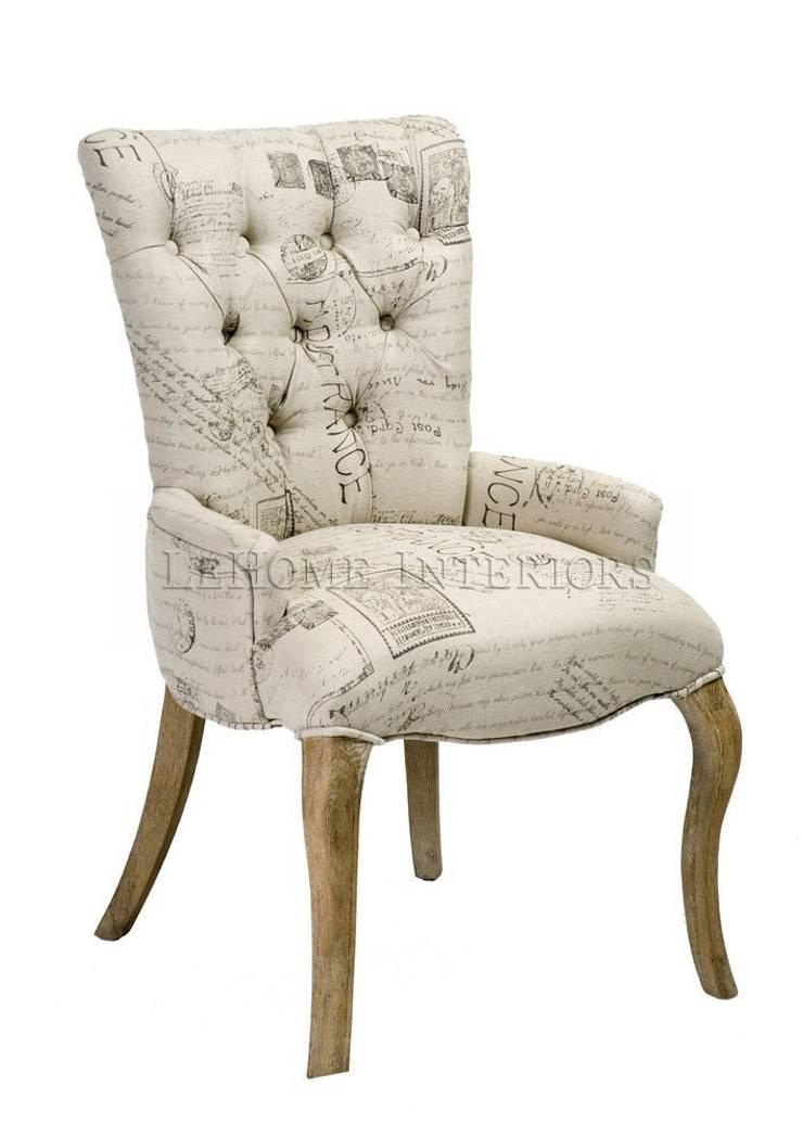 Стул Monogram Chair C031: Гостиная в . Автор – LeHome Interiors