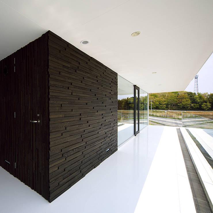 TT: 株式会社廣田悟建築設計事務所が手掛けたテラス・ベランダです。