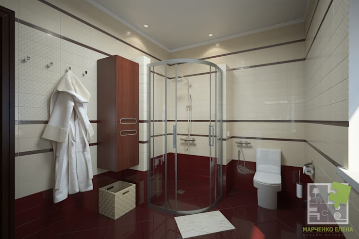 Ванные комнаты в . Автор – Елена Марченко (Киев)
