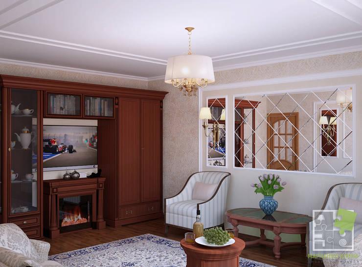 Гостиная в . Автор – Елена Марченко (Киев), Классический