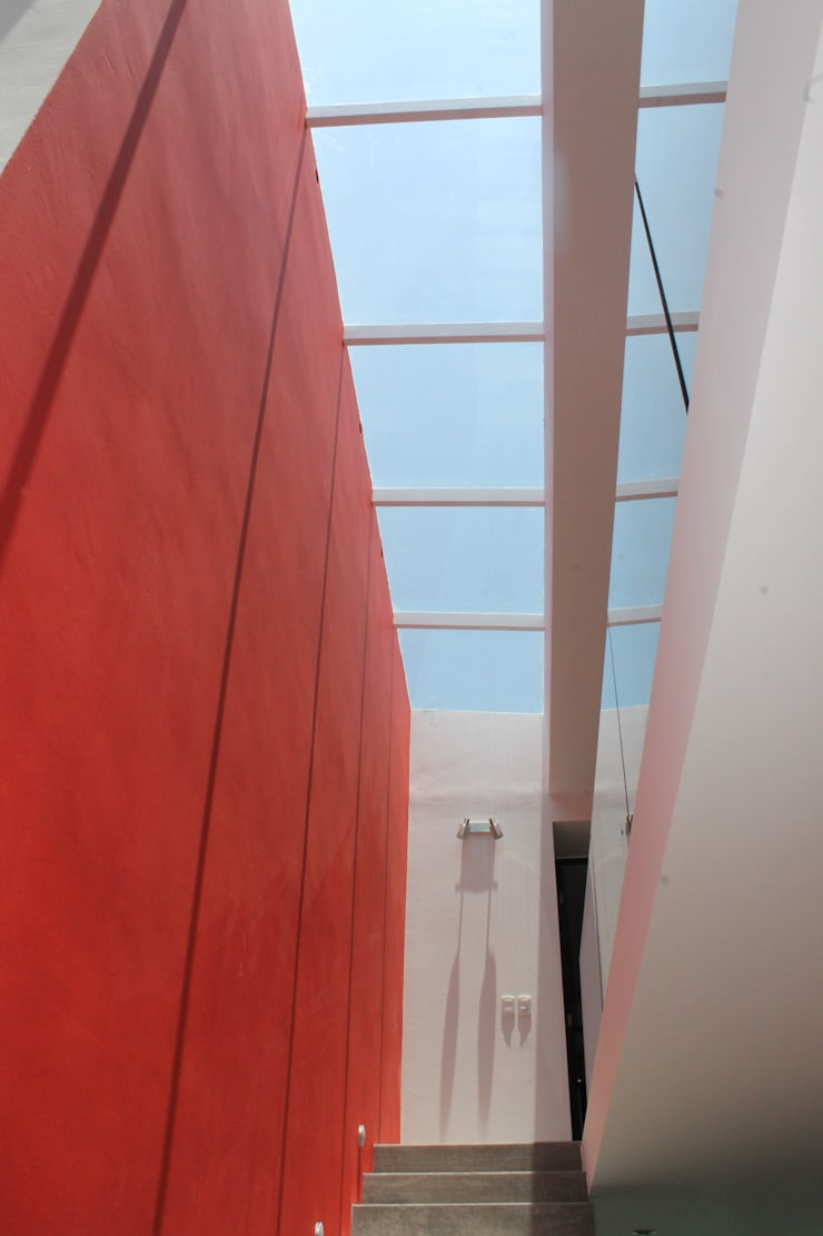 Casa Querétaro: Casas de estilo  por Farquitectos