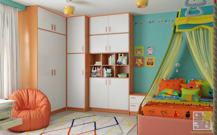 غرفة الاطفال تنفيذ Елена Марченко
