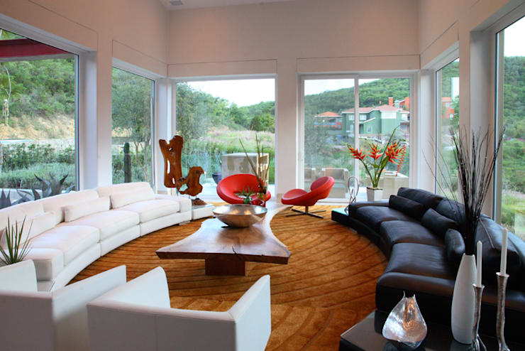 modern Living room by Adrián Martínez Arquitectos