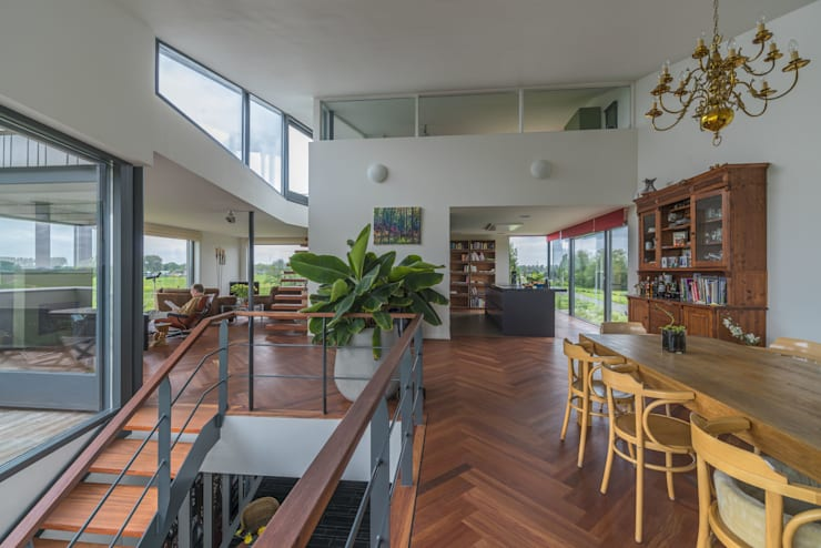 Wohnzimmer von MAS architectuur