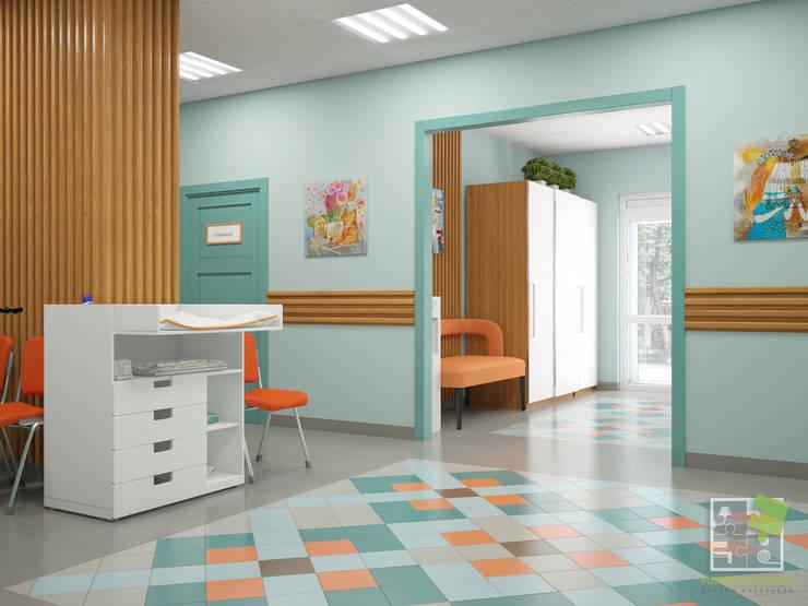 Больницы в . Автор – Елена Марченко (Киев), Эклектичный