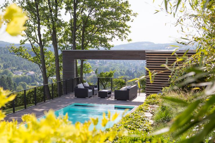 Projekty,  Ogród zaprojektowane przez BEGRÜNDER