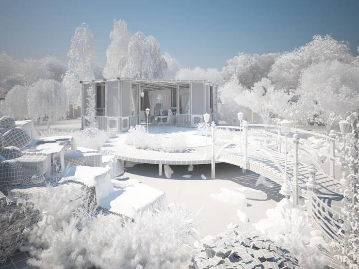 3d модель: Сады в . Автор – Мастерская ландшафта Дмитрия Бородавкина