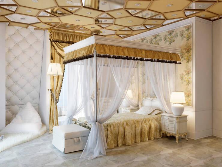 Спальня девочки – частный проект: Детские комнаты в . Автор – Катков Сергей ,