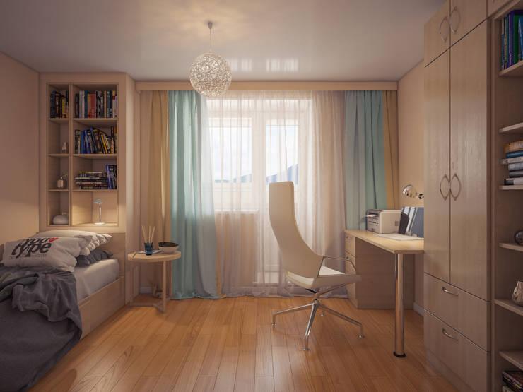 Частная квартира: Спальни в . Автор – Катков Сергей