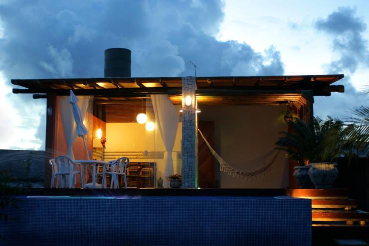 CASA ECOLÓGICA II: Casas  por alexis vinícius arquitetura e design,Rústico