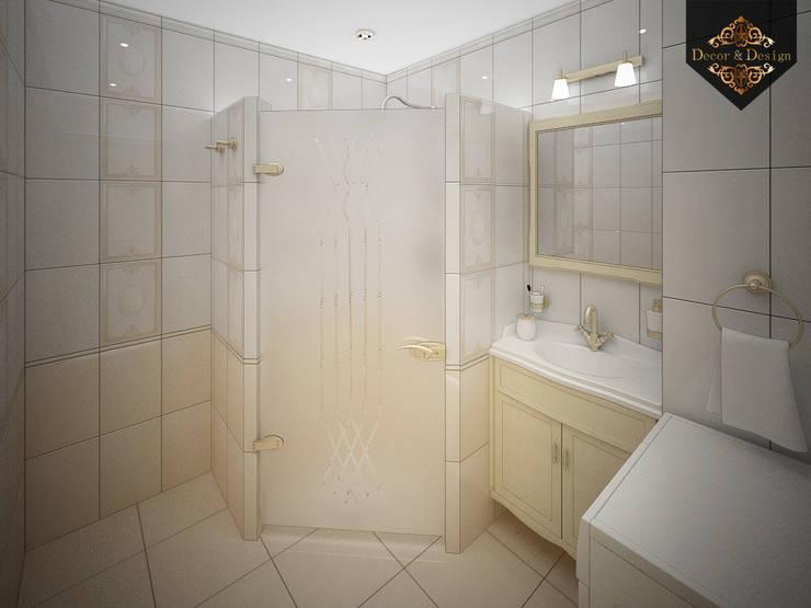 романтичная классика: Ванные комнаты в . Автор – Decor&Design