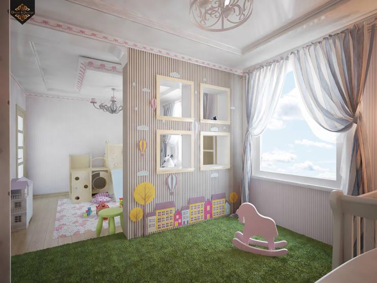 детская для девочки: Детские комнаты в . Автор – Decor&Design, Классический