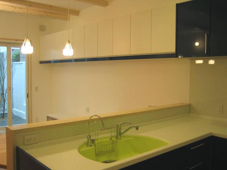 キッチン: あお建築設計が手掛けたキッチンです。