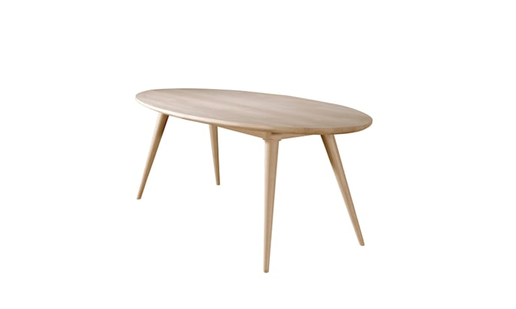 INES TABLE: Casa  por Wewood - Portuguese Joinery