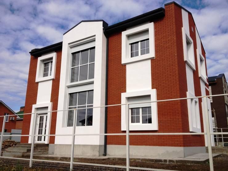 Солнечный энергоэффективный дом 8х12: Дома в . Автор – Солнечные дома