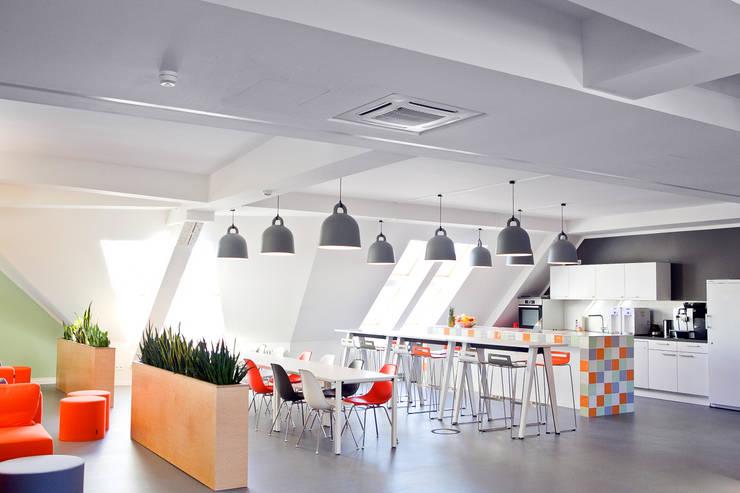 Lieferando.de    YD. Your delivery GmbH:  Bürogebäude von Sabine Oster Architektur & Innenarchitektur (Sabine Oster UG)