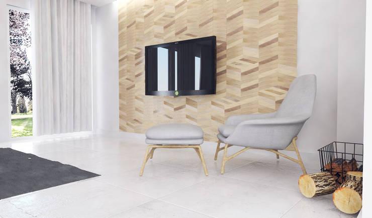 Salon z kuchnią: styl , w kategorii Salon zaprojektowany przez FOORMA Pracownia Architektury Wnętrz