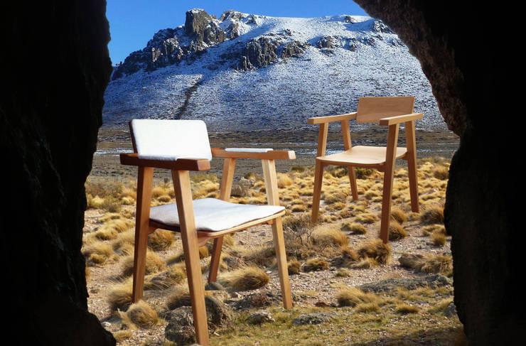 SILLA ESTEPA: Comedores de estilo  por TocToc - Muebles y Objetos Argentinos
