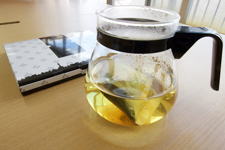 京都の素材を使った黒豆茶『くびれ京茶』: nola Inc.が手掛けた家庭用品です。,