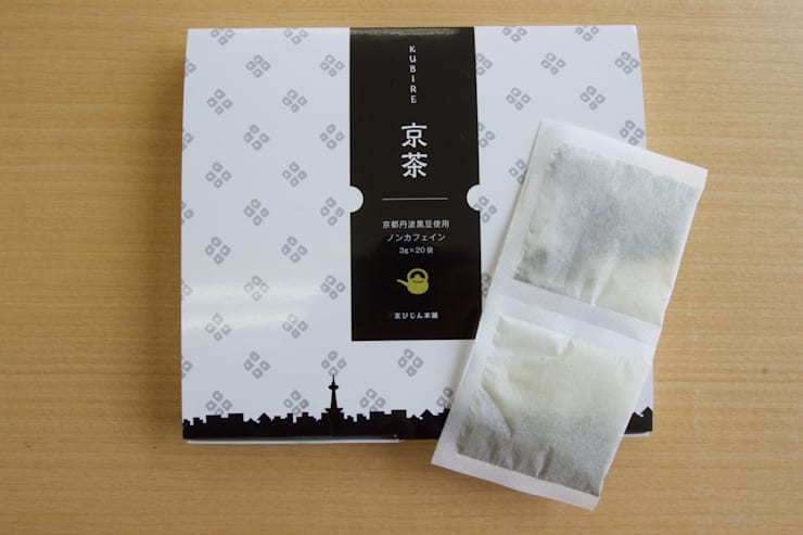 京都の素材を使った黒豆茶『くびれ京茶』: nola Inc.が手掛けた家庭用品です。