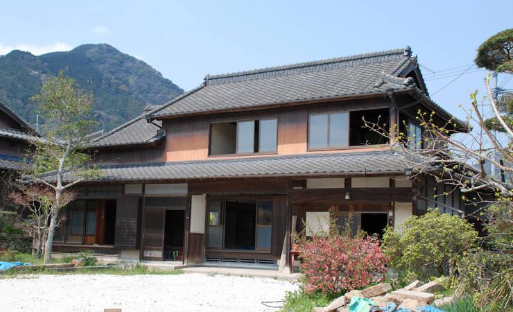 改修前(昭和25年築): 一級建築士事務所  馬場建築設計事務所が手掛けたです。