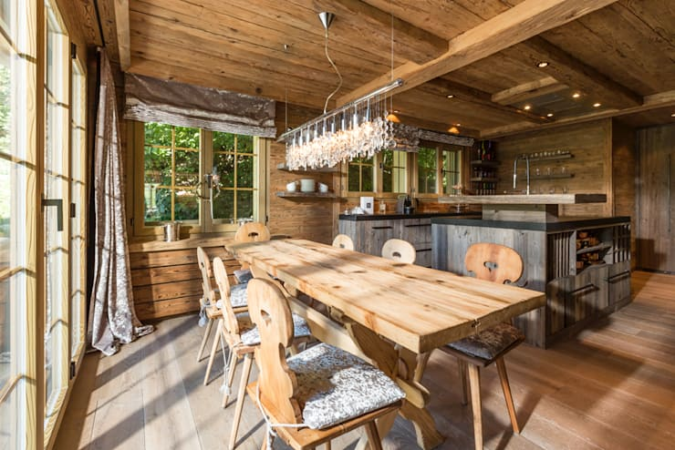 rustic Kitchen by RH-Design
