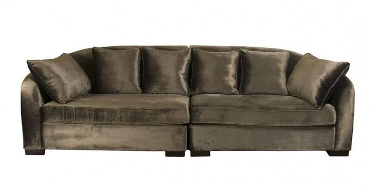 Диван Starck Grandy Sofa S003: Гостиная в . Автор – LeHome Interiors