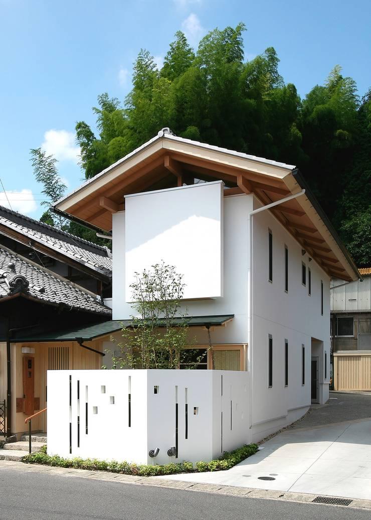 外観: アンドウ設計事務所が手掛けた家です。