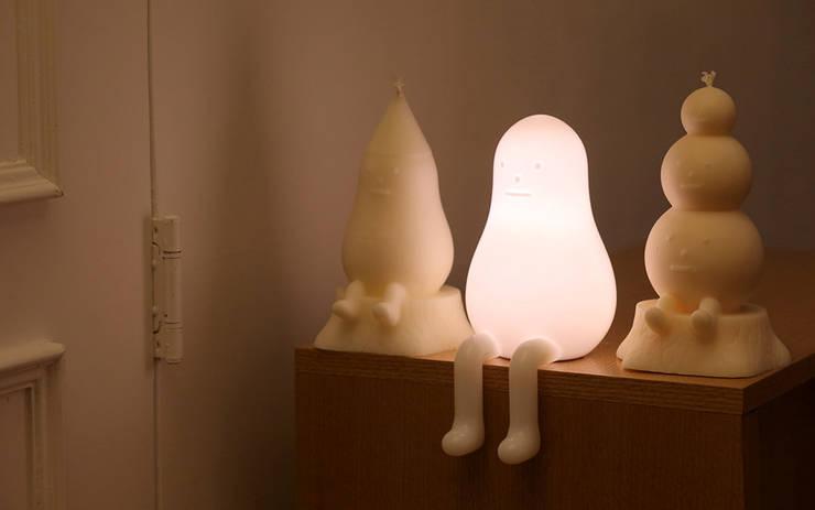 THE LAMP 01: Sticky Monster Lab의  아이 방
