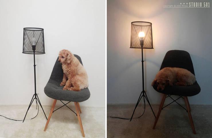 Projekty,  Salon zaprojektowane przez Studio501