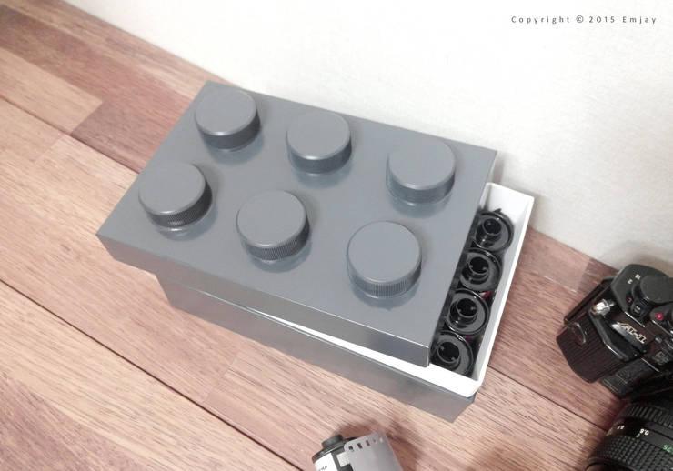 DIY 레고 스토리지 : Studio501의  거실