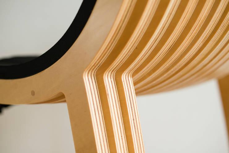 wirechair: Design of Engineering and Fabrication / wipが手掛けた勉強部屋/オフィスです。