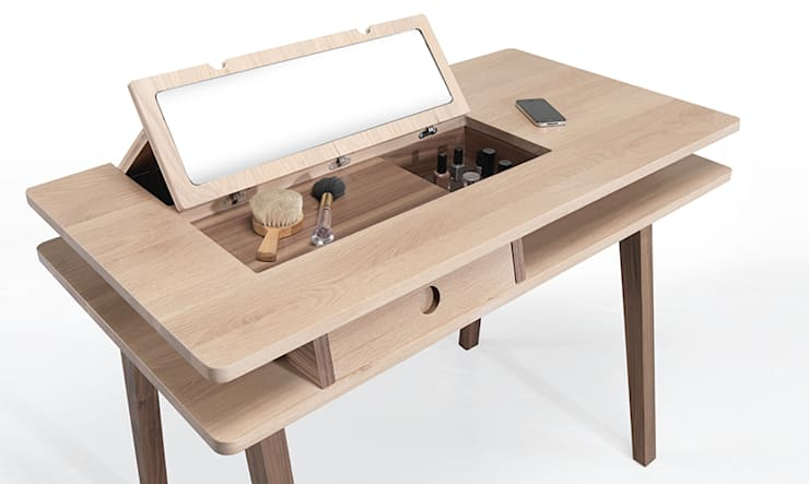 LEI DESK/DRESSING TABLE: Casa  por Wewood - Portuguese Joinery