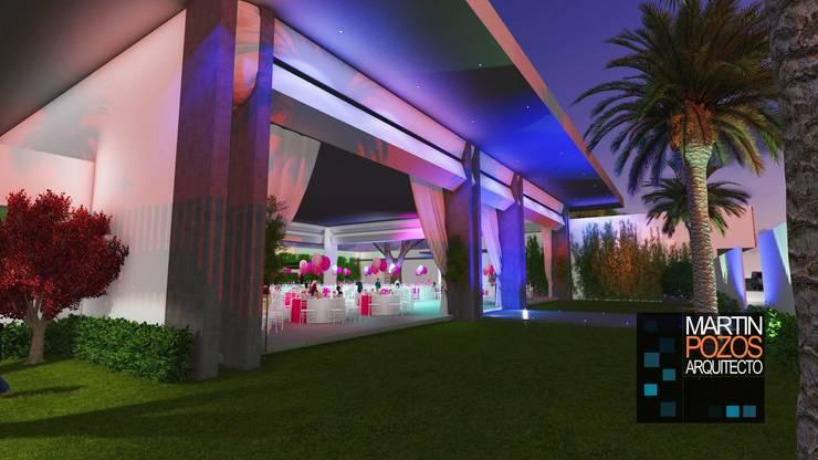 Proyectos y Espacios: Jardines de estilo  por Martin Pozos Arquitecto