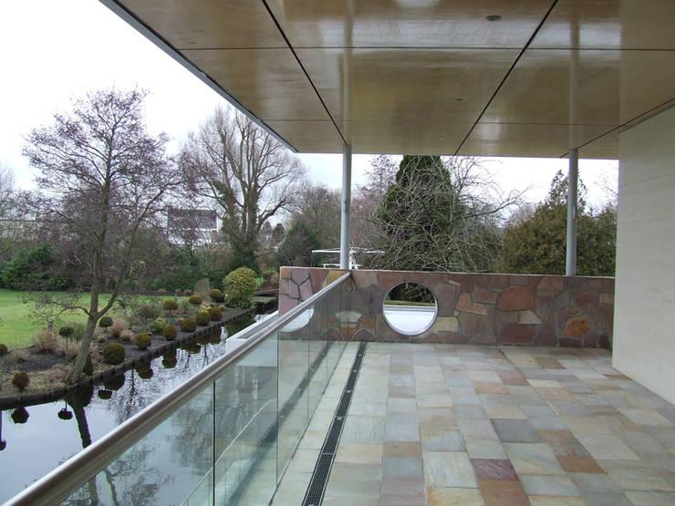 Terrazas de estilo  por SL atelier voor architectuur, Moderno