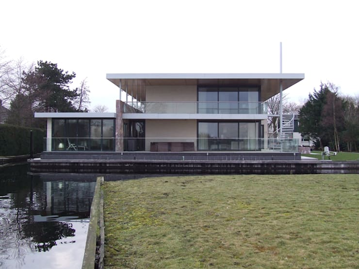 Houses by SL atelier voor architectuur, Modern