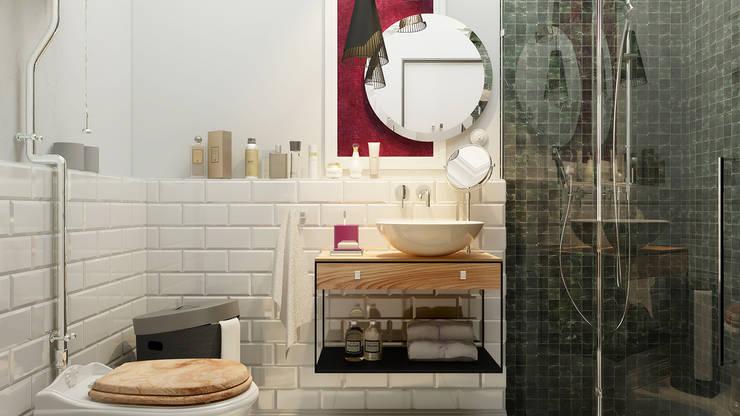 eclectische Badkamer door Vashantsev Nik