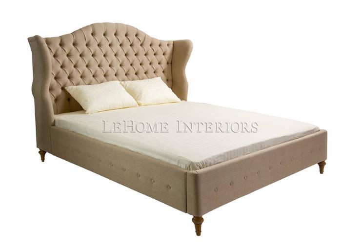 Кровать Lord Bed B006: Спальная комната  в . Автор – LeHome Interiors