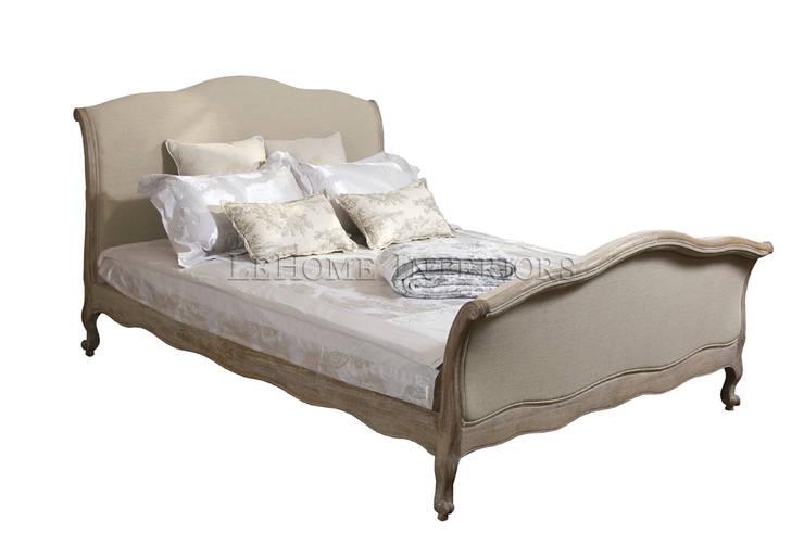 Кровать Longwood Bed B002: Гостиная в . Автор – LeHome Interiors