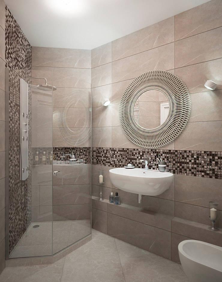 Salle de bains de style  par Виталия Бабаева и Дарья Дикая, Classique