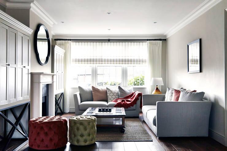 eclectic Living room by Studio Duggan
